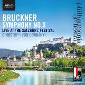 Bruckner: Symphony No. 9, Live at the Salzburg Festival by Philharmonia Orchestra