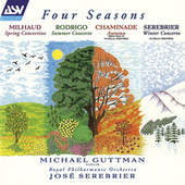 Milhaud: Concertino de printemps / Rodrigo: Concierto de estio / Chaminade: Automne / Serebrier: Winter Concerto de José Serebrier