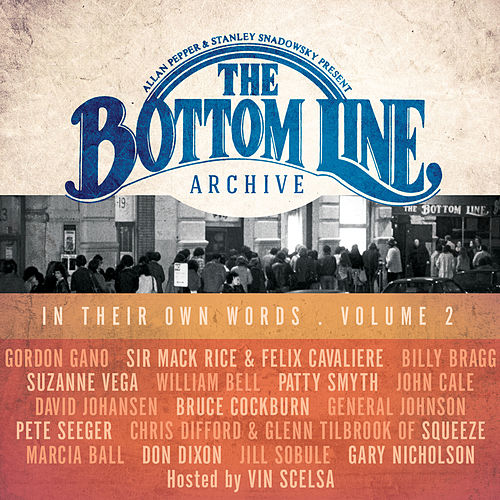 The Bottom Line Archive Series: In Their Own Words Vol. 2 de Various Artists