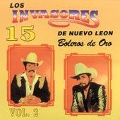 15 Boleros De Oro, Vol. 2 de Los Invasores De Nuevo Leon