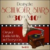 Masterpieces presents Deutsche Schlager Stars der 30er & 40er - Teil 1 (Teil 1: Original Tonfilm Kult - Hits und Evergreens) by Various Artists