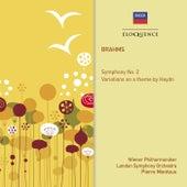Brahms: Symphony No. 2; Variations On A Theme By Haydn de Pierre Monteux