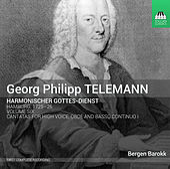 Telemann: Harmonischer Gottes-Dienst, Vol. 6 de Jan van Elsacker