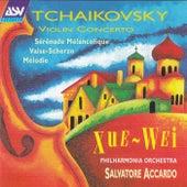 Tchaikovsky: Violin Concerto; Sérénade Mélancolique; Valse-Scherzo; Mélodie by Salvatore Accardo