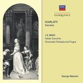 Scarlatti: Sonatas / Bach: Italian Concerto; Chromatic Fantasy & Fugue de George Malcolm