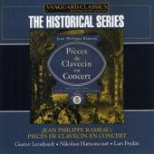 Jean Philippe Rameau: Pieces De Clavecin En Concer by Gustav Leonhardt