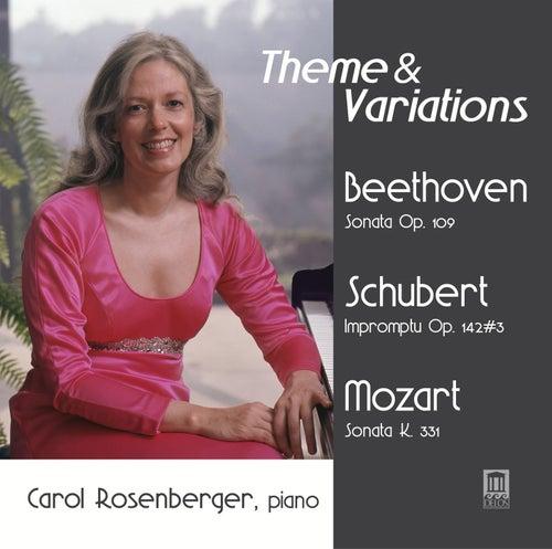 Theme & Variations by Carol Rosenberger