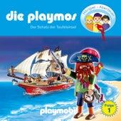 Folge 1: Der Schatz der Teufelsinsel (Das Original Playmobil Hörspiel) von Die Playmos