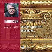 Harbison Symphonies 1 & 2 by Boston Symphony Orchestra