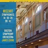 Mozart Symphonies: 14, 18, 20, 39 and 41 by Boston Symphony Orchestra