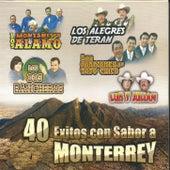 40 Exitos Con Sabor a Monterrey de Various Artists