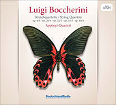 Boccherini: String Quartets by Apponyi Quartet