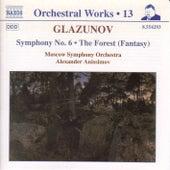 Symphony No. 6 / The Forest de Alexander Glazunov