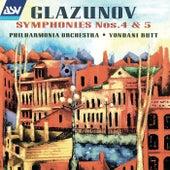 Glazunov: Symphonies Nos. 4 & 5 de Yondani Butt