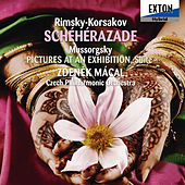 Rimsky-Korsakov: Scheherazade, Mussorgsky: Pictures At An Exhibition, Suite arranged by Maurice Ravel by Czech Philharmonic Orchestra