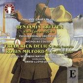 Delius, Britten & Milford: Violin Concertos by Philippe Graffin