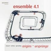 Mozart, Verhey & Gieseking: Origins by Ensemble 4.1