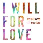 I Will For Love (feat. Will Heard) de Rudimental