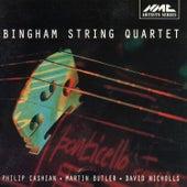 Philip Cashian, Martin Butler & David Nicholls: Works for String Quartet by Bingham String Quartet