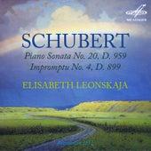 Schubert: Piano Sonata No. 20, D. 959 & Impromptu No. 4, D. 899 von Elisabeth Leonskaja