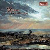 Romance for Violin & Organ by Olsson, Langlais, Massenet, Lovreglio, Leighton, Lloyd Webber, Saint-Saëns, Reger, Rütti, Rachmaninoff by Rupert Gough