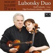 Mozart & Glière Duos by Mark Lubotsky