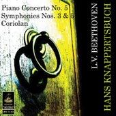 Beethoven: Piano Concerto No 5, Symphonies Nos. 3 & 5, Coriolan by Various Artists
