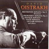 David Oistrakh Plays Works for Violin and Piano by David Oistrakh