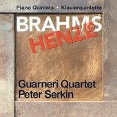 Brahms & Henze: Piano Quintets de Peter Serkin
