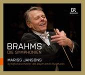Brahms: Symphonies Nos. 1-4 (Live) von Symphonie-Orchester des Bayerischen Rundfunks