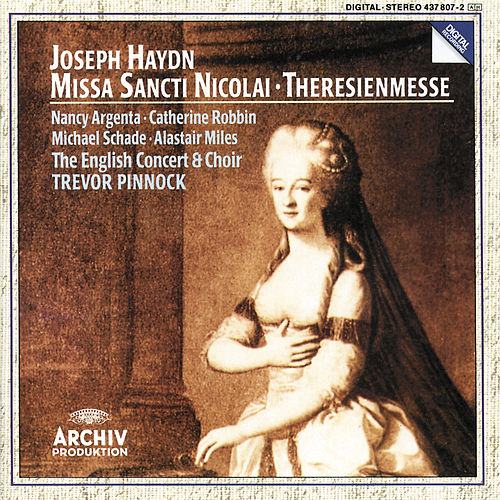 Haydn: Missa Sancti Nicolai; Theresienmesse by Nancy Argenta