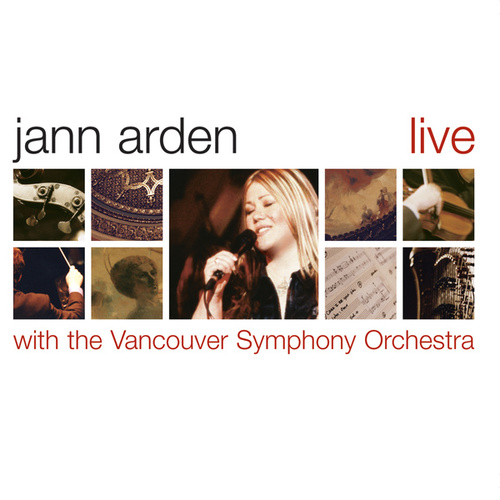 Jann Arden - Live with the VSO by Jann Arden