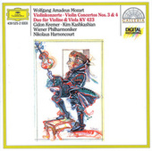 Mozart: Violin Concertos Nos. 3 & 4; Duo for Violin and Viola KV 423 by Gidon Kremer