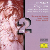 Mozart: Requiem; Great Mass in C minor; Missa brevis in C major by Berliner Philharmoniker