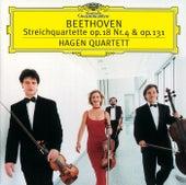 Beethoven: String Quartets No.4 op.18 & No.14 op.131 by Hagen Quartett