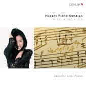 Mozart: Piano Sonatas, K. 331, K. 332 & K. 545 von Jennifer Lim