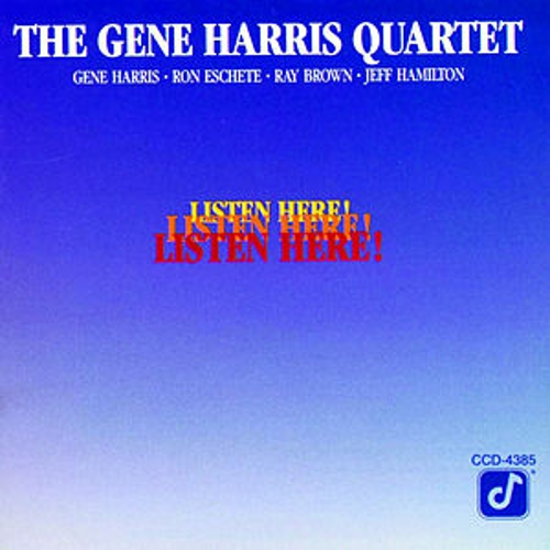 Listen Here! by Gene Harris