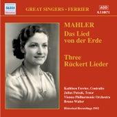 Mahler: Rückert-Lieder & Das Lied von der Erde (Recorded 1952) de Various Artists