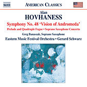 Hovhaness: Works for Orchestra & Soprano Saxophone by Various Artists