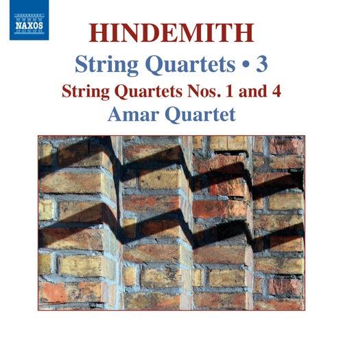 Hindemith: String Quartets, Vol. 3 by Amar Quartet