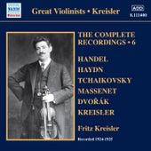 Kreisler: The Complete Recordings, Vol. 6 von Fritz Kreisler