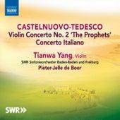 Castelnuovo-Tedesco: Violin Concertos de Tianwa Yang