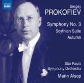 Prokofiev: Symphony No. 3, Op. 44 & Scythian Suite, Op. 20 by Orquestra Sinfônica Do Estado De São Paulo