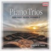Zemlinsky, Bloch & Korngold: Piano Trios von Pacific Trio