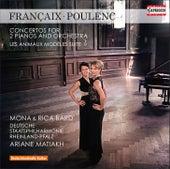 Françaix: Concerto for 2 Pianos - Poulenc: Les animaux modèles & Concerto for 2 Pianos in D Minor by Various Artists