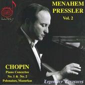 Menahem Pressler, Vol. 2 (Chopin Concertos 1 & 2, Polonaises, Mazurkas) von Menahem Pressler
