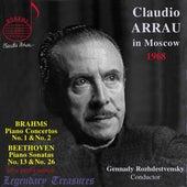 ARRAU in Moscow '68 - Brahms Concertos 1 & 2, Beethoven Sonatas 13 & 26 von Claudio Arrau