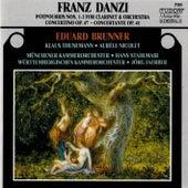 Danzi: Music for Clarinet & Orchestra von Eduard Brunner