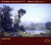 Mozart: Flötensonaten KV 10-15 - Hummel: Flötentrio op. 78 by Jubal Trio Wien