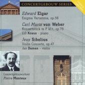 Elgar: Enigma Variations - Von Weber: Konzertstuck - Sibelius: Violin Concerto by Various Artists